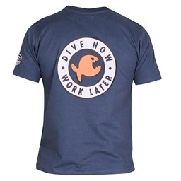 Bild von iQ Classic T-Shirt  Dive Now - deep-blue